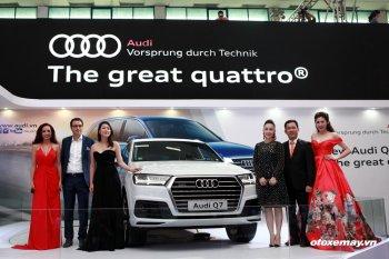 Cận cảnh chi tiết Audi Q7 tại VIMS 2015