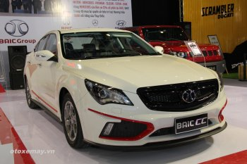 VIMS 2015: Cận cảnh sedan BAIC CC của Trung Quốc
