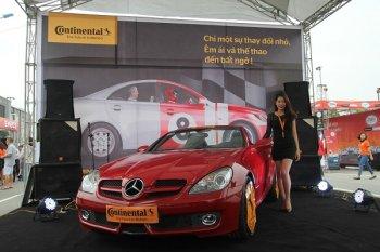 """Continental 'khoe"""" dòng  lốp cao cấp mới tại Hà Nội"""