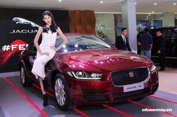Jaguar XE 2015 làm nóng phân khúc sedan hạng sang Việt Nam