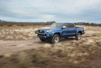 Toyota triệu hồi Tacoma mới do lỗi hệ thống túi khí đầu gối