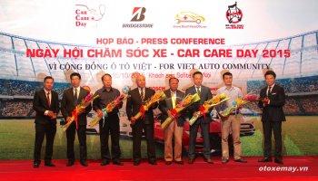800 xe hơi được mời bảo dưỡng ở Car Care Day 2015 tại Việt Nam