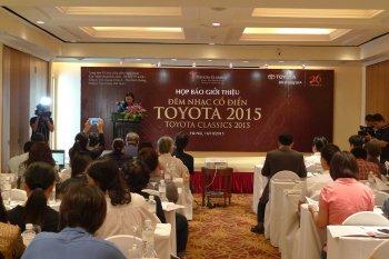 Năm thứ 18 Đêm nhạc Cổ điển Toyota 2015 diễn ra tại Việt Nam