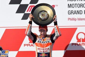 Chặng 16 MotoGP 2015: chiến thắng đầy kịch tính của Marquez