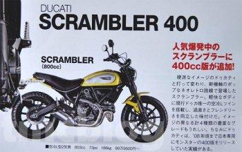 Ducati scrambler 400 sẽ được ra mắt vào tháng 11