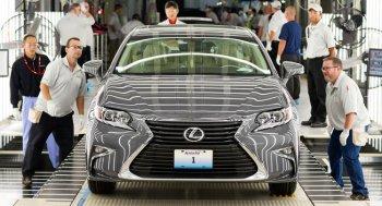 Lexus lần đầu tiên sản xuất xe hơi tại Mỹ