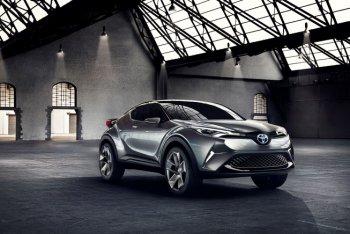 Toyota C-HR bắt đầu xuất hiện tại Geneva 2016