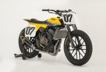 Giải mã bí ẩn của Yamaha DT-07 Flat Track Concept