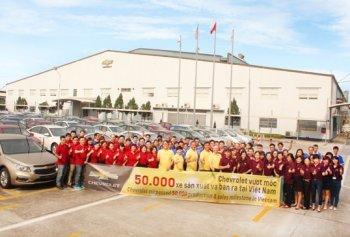 Chevrolet vượt mốc 50.000 xe tại Việt Nam