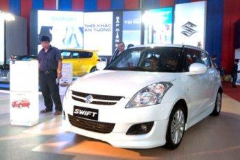 Hơn 1 nghìn xe Suzuki  Swift tại Việt Nam lỗi phanh