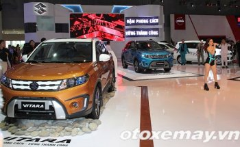 VMS 2015: Suzuki Vitara 2015 hoàn toàn mới ra mắt tại Việt Nam