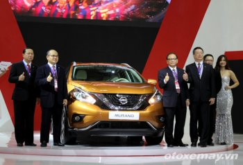 VMS 2015: Nissan Murano Platinum AWD 2015 lần đầu tiên ra mắt Việt Nam