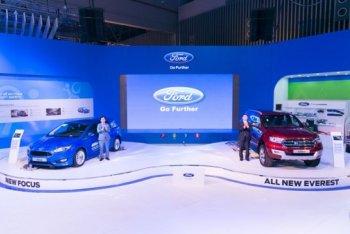 VMS 2015: Ford Focus và Everest Mới ra mặt tại Việt Nam