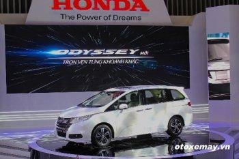 Honda mở rộng phân khúc với minivan Odyssey