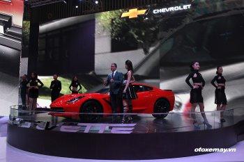 VMS 2015 : Khách Việt trầm trồ với Chevrolet Corvette Stingray Coupe