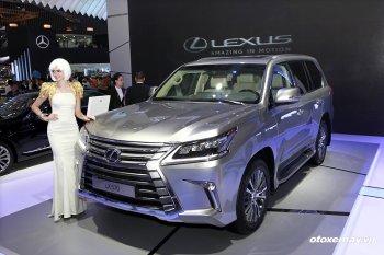 VMS 2015: Lexus trưng bày đủ 4 dòng SUV