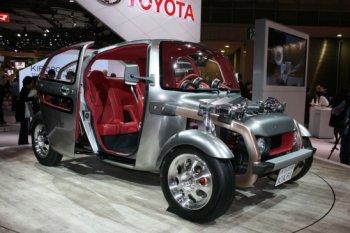 Toyota Kikai concept: Tôn vinh giá trị cốt lõi của xe hơi