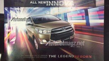 Xuất hiện thông tin chi tiết Toyota Innova 2016