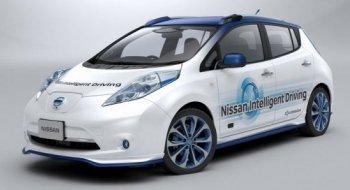 Xe tự lái của Nissan sẽ xuống đường vào năm 2016