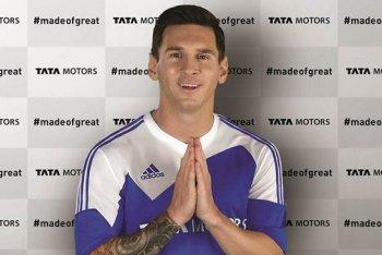 Lionel Messi làm đại sứ cho hãng xe giá rẻ