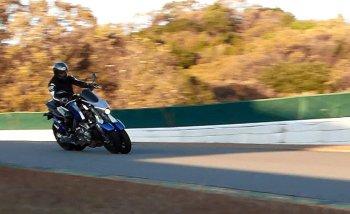Tận mắt xem môtô 4 bánh Yamaha vận hành