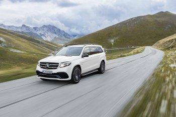 Mercedes-Benz GLS mới có giá từ 62.850 Euro