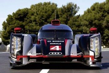 Audi trang bị màn hình AMOLED hiển thị chiếu hậu cho xe đua R18