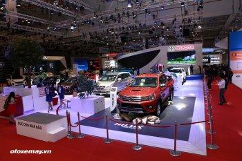 Doanh số bán hàng Toyota Việt Nam chỉ tăng nhẹ trong tháng 10