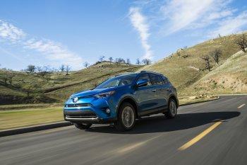 """Toyota RAV4 Hybrid 2016 """"bày hàng"""" chi tiết"""