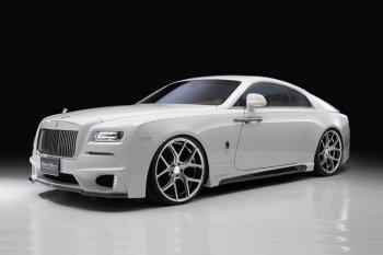 Rolls-Royce Wraith lột xác qua tay hãng độ Wald International