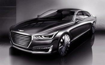 Hyundai úp mở mẫu sedan cạnh tranh với BMW 7-Series