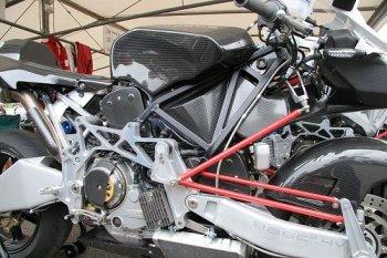 Hệ thống treo độc đáo trên xe môtô Bimota Tesi 3