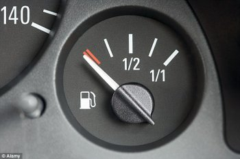 Để bình xăng ô tô quá cạn – Quá nguy hiểm!