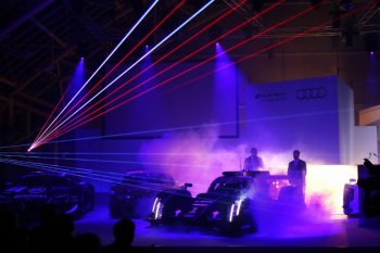 Audi tăng tốc trong cuộc đua đèn pha bằng công nghệ laser