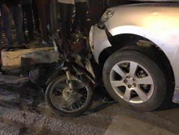 Lái xe Hyundai rượt đuổi điên cuồng đâm chết oan người tại Hà Nội
