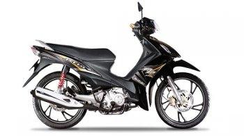 Suzuki Axelo 125 có thêm bản màu đen xám mới