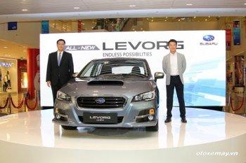 Subaru Levorg GT-S 1,4 tỷ đồng- thêm một lựa chọn cho gia đình Việt