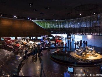 Tham quan nhanh bảo tàng Mercedes
