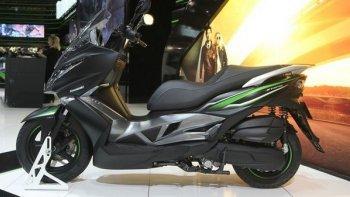 Kawasaki ra mắt xe ga 125  phân khối  cạnh tranh với Yamaha và Honda