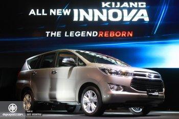 Toyota Innova 2016 chính thức được ra mắt tại Indonesia