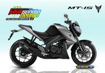 """Yamaha MT-15 chuẩn bị """"đối đầu"""" Honda CB150R"""