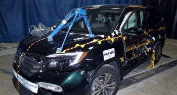 Honda Pilot 2016 đạt chuẩn an toàn 5 sao