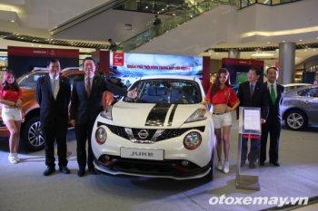 """Nissan đem """"Đội hình trong mơ"""" đến Aeon Mall Hà Nội"""