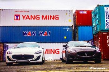 Maserati chính hãng đầu tiên có mặt tại Việt Nam