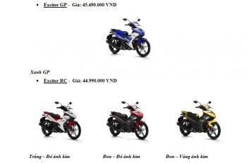 Yamaha lại ra loạt xe mới bằng trò đổi màu