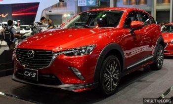 Mazda CX-3 2016 sắp có mặt tại Việt Nam ?