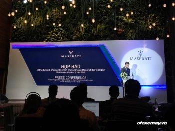Maserati Việt Nam ra mắt với tham vọng 10% thị phần