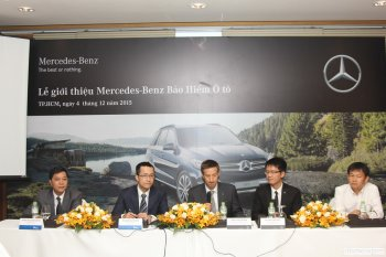 Ra mắt gói bảo hiểm riêng cho ô tô Mercedes tại Việt Nam