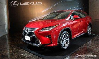 Lexus RX hoàn toàn mới ra mắt tại Thái Lan