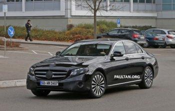Mercedes-Benz E-Class thế hệ mới lộ diện